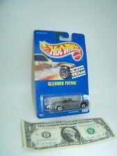 Hot Wheels Silver Gleamer Patrol - Geam Team  - Blue Card - Collector #189 1990