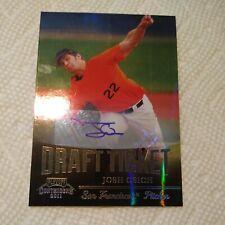 Josh Osich 2011 Contenders Draft Ticket AUTOGRAPH #DT60 San Francisco Giants