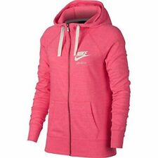 Nike Women s Gym Vintage Full Zip Hoodie Jacket 883729 622 Pink Size XL NWT 699635190d6e