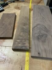 3 Unique Figured Black Walnut Boards Collect Or Woodworking Lumber
