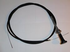 Triumph Stag NEW choke cable with removable knob as original