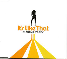MARIAH CAREY It's Like that 2 TRX DAVID MORALES MIX CD single SEALED USA Seller