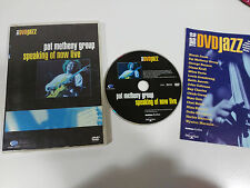 PAT METHENY GROUP SPEAKING OF NOW LIVE - DVD JAZZ SELECTA VISION 2003
