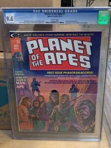 PLANET OF THE APES #1, (1974), Marvel Comics, CGC 9.6, Magazine