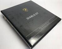 Lamborghini COD 901325760 Diablo GT Workshop Service Manual 1999-2000