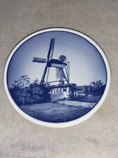 Windmill Mini Plate Royal Copenhagen 49/2010 Denmark Fajance Dybbol Molle