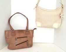Two Stone Mountain Purses Handbags with Two FREE Stone Mountain Makeup Bags VG+
