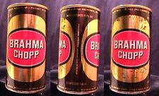 BRAHMA CHOPP - MID 1970'S - 355ML PULL TAB CAN - INDUSTRIA BRASILEIRA