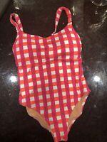 J.Crew Women's One Piece Swimsuit - Wide Straps-  Size 8 AO969