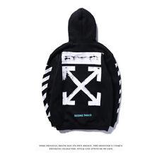7c575755c Brand New Off White Spring Unisex Hoodies Streetwear Tops Jumper Activewear