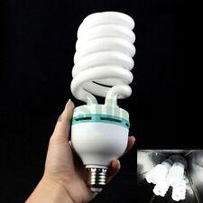 135W Daylight Bulb Photo Lighting Studio Compact Fluorescent Lamp E27 5500K UK