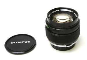 Olympus OM-System G.Zuiko Auto-S 1:1.2 f=55mm Lens Used Excellent Condition