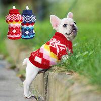 Hundepullover Strickpullover Hundebekleidung Hundemantel für Kleine Hunde Katzen