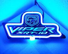 "SD201B Dodge Viper Beer Bar Pub decor Display Neon Light 3D Acrylic Sign 13""x6"""