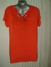 KALEIDOSCOPE TOP SIZE 16 EUR 42  WITH BUTTERFLY BACK  RRP £35.00 NWT