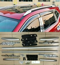 Fit For Nissan Rogue 2014 -2020 Aluminium Roof Rack Rails Bars Luggage Carrier