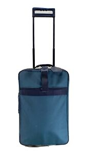 """Briggs & Riley Green Ballistic 21"""" Upright Wheeled Carry-On Suitor Suitcase"""