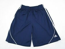 Adidas Men's Shorts Navy Blue Size M Elastic Waist With Drawstring