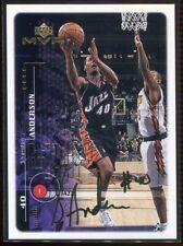 1999-00 Upper Deck MVP Gold Script 166 Shandon Anderson 82/100