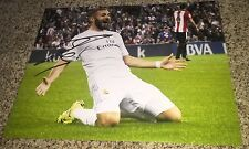 Karim Benzema Signed 11x14 Photo with proof