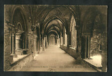 Posted 1929 in UK to Sittingbourne: View of a Passageway, St. Bavo's Abbey, Gent