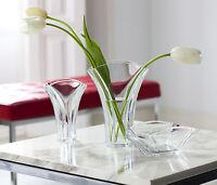 BACCARAT CRYSTAL Ginkgo Vase, Large