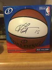 Vince Carter Autographed Basketball