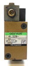 CKD VALVE 4L229, 1.5-9.9 PRESSURE