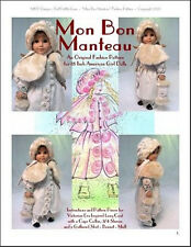 """""""Mon Bon Manteau"""" Fashion Pattern 4 American Girl Dolls"""
