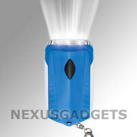 Emergency Survival 3-LED Dynamo Hand-Crank Rechargeable Flashlight (PACK OF 24)