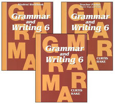 Saxon Grammar and Writing (Hake's Grammar) Grade 6 Kit