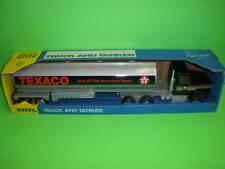 TEXACO TANKER TRUCK Pressed Steel / ANTIQUE 1980's / 1/27th 20