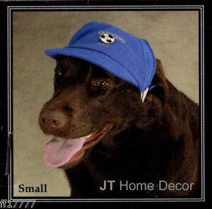 ZACK ZOEY Dog Blue SOCCER Sport HAT Cap LED Light SMALL