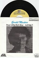 Gerald Masters Poor Little Rich Boy 45/ger/pic
