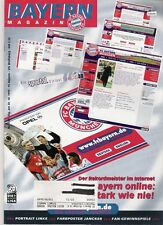 Bayern Magazin 5/51 , Bayern München - VfL Wolfsburg , 30.10.1999