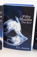 "E L James ""Fifty Shades Darker"" faux mini book for Tonner, other 16"" dolls"