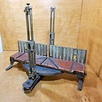 Antique Stanley Cast Iron Mitre Box  # 358 Patent 1909/1912