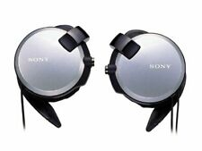 Sony Clip-on Stereo Headphones With Double Retractable Cord | MDR-Q68LW S S