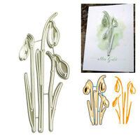 Flower Branch Metal Cutting Dies Stencil for DIY Scrapbooking Paper Card Dec Dz