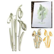 Flower Branch Metal Cutting Dies Stencil for DIY Scrapbooking Paper Card DecorDB