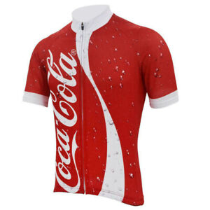 Soda Pop Cola Cycling Jersey Short Sleeve
