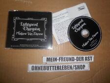 CD Indie Lightspeed Champion - Madame Van Damme (1 Song) Promo DOMINO Pressk sc