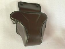 Brown  LEATHER CASE FOR CANON AE1 - 2 Pieces