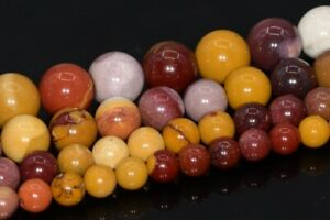 Natural Mookaite Beads Grade AAA Round Loose Beads 3/4/6/8/10/12/15-16MM