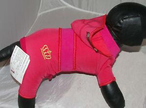 8185x_Angeldog_Hundekleidung__Hundeoverall_Hund_Mantel_CHIHUAHUA_RL25_Xs Kurz