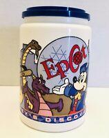 "VTG Disney Epcot Snow White Donald Mickey Coca Cola 6"" Plastic Collectible Mug"