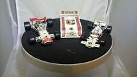 3X VINTAGE CORGI/POLISTIL RACING CARS LOT 1