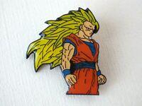 Pin's vintage épinglette Collector DRAGON BALL Z Goku ssj3 DBZ DBS neuf 3x2,5 cm