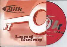 MILK INC. - Land of the living CD SINGLE 2TR CARDSLEEVE 2000 (Orange Cover)