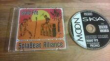 CD PUNK solabeat Alliance-Islanda Fire (12) canzone PROMO Moon Ska Europe